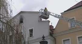 Pożar kamienicy w Bolesławcu. Mieszkańcy ewakuowani