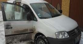 Policjanci odzyskali skradziony samochód dostawczy i zatrzymali złodzieja