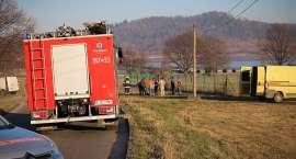 Podgórzyn : Wyciek gazu na ul. Nowej
