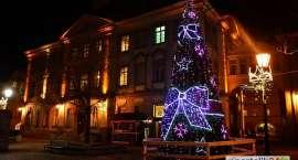 Choinka i jelonek zdobią Plac Ratuszowy