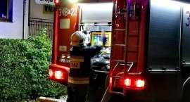 Przy ul. Morcinka w Jeleniej Górze spaliła się altanka.