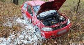 Dachowanie samochodu pod Łomnicą