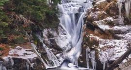 Szlak przy wodospadzie Szklarki otwarty!