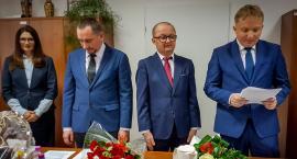 Ślubowanie wójta i radnych gminy Podgórzyn