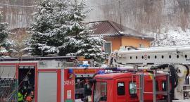 Pożar budynku mieszkalnego w Dziwiszowie