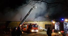 Budynek spłonął doszczętnie. Nie udało się go uratować.