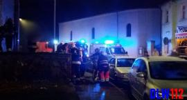 Tragiczny pożar w Gryfowie. Nie żyje jedna osoba.