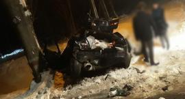 Świeradów Zdrój - Roztrzaskany pojazd. Są osoby ranne.