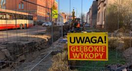 Uwaga na Al.Wojska Polskiego!