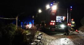 Pożar w dziecięcym pokoju w Staniszowie