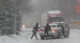 Atak zimy - sparaliżowany ruch na drogach! Włącz Zello