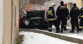 W Siedlęcinie spłonął samochód osobowy