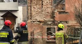 W Sobieszowie zawaliła się ściana budynku