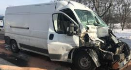 Dwie osoby ranne w wypadku pod Bolesławcem