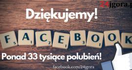 24jgora.pl ma już ponad 33 tysiące fanów!