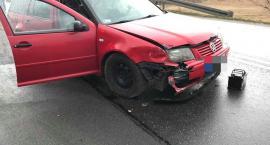 Cztery samochody zderzyły się na drodze z Jeleniej Góry do Karpacza