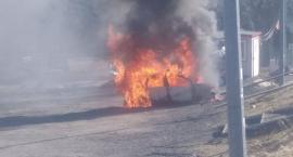 W Świeradowie spłonął samochód