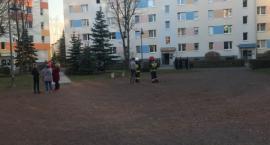 Ewakuacja bloku mieszkalnego przy ulicy Kiepury