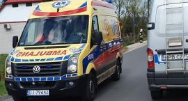 Potrącenie rowerzysty w Łomnicy Sprawca oddalił się z miejsca zdarzenia