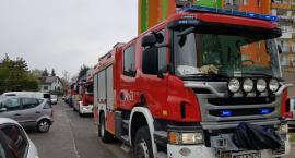 Jelenia Góra - Wybuch i ulatniający się gaz przy Działkowicza