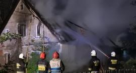 Piechowice - Pożar opuszczonego budynku