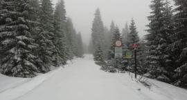 Zima w środku maja. Śnieg przykrył Karkonosze
