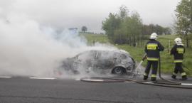 Pożar samochodu osobowego na DK30