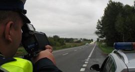 """Akcja """"Prędkość"""" na drogach regionu jeleniogórskiego."""