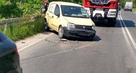 Zderzenie dwóch aut na ulicy Sudeckiej