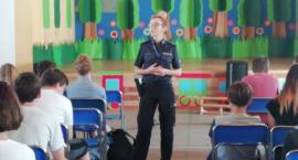 Policja w Szkole Podstawowej w Janowicach Wielkich