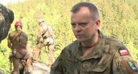 Wojskowe szkolenie wysokogórskie w Karkonoszach