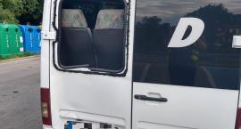 Karpacz - Rowerzysta wpadł na busa