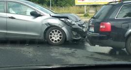 Wypadek na skrzyżowaniu Sobieszowskiej i Lubańskiej