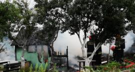 W Cieplicach spłonęła altanka ogrodowa