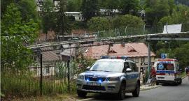 Szklarska Poręba : Zderzenie dwóch wózków na letnim torze saneczkowym