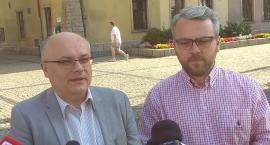 Konferencja prasowa - Krzysztof Mróz i Wojciech Leszczyk