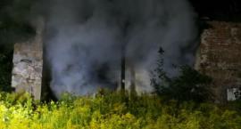 Pożar pustostanu. W akcji kilka jednostek straży pożarnej