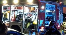 Straż pożarna interweniowała przy ulicy Noskowskiego
