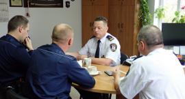 Spotkanie robocze Straży Miejskiej i Policji