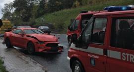 W Kaczorowie samochód osobowy zderzył sie z ciężarówką