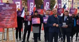 Robert Biedroń w Jeleniej Górze ogłosił Pakt dla małych i średnich miast