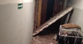 Wybuch w mieszkaniu w Bolkowie