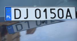 Nowe tablice rejestracyjne w Jeleniej Górze