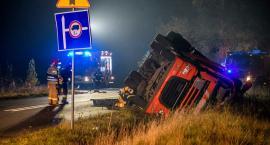 Wypadek cysterny pod Bolesławcem. Kierowca zginął na miejscu