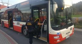 Strażnicy miejscy w autobusach MZK