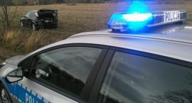 Próbował uniknąć kontroli-po krótkim pościgu został zatrzymany.