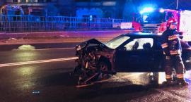 Zderzenie dwóch aut na ulicy Wolności