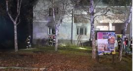 Płonął budynek wielorodzinny w Kostrzycy