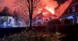 Duży pożar w Kowarach