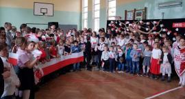 Razem dla Niepodległej w SP w Sosnówce